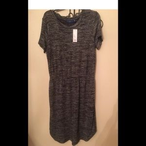 APT 9 Gray Dress Size L